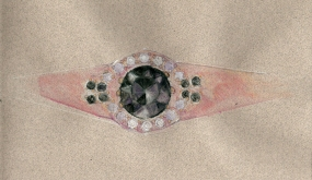 rose-gold-ring-black-spinel-with-diamond-accents
